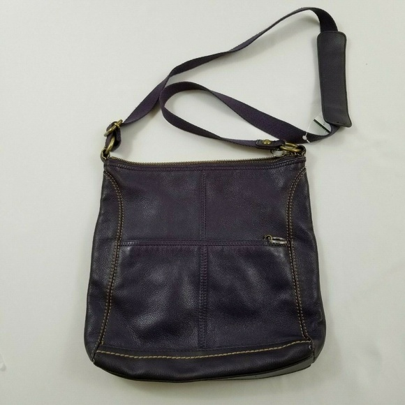 Unbranded Handbags - Brown soft Faux Leather Brown Crossbody Bag Purse
